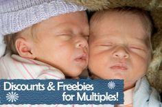 Have Multiples? You Can Score Some Free Stuff! #twins #multiples