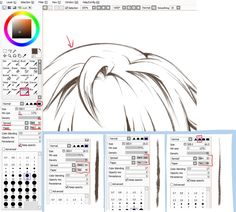 Paint Tool SAI. Crayon Settings by ayashige-doodles on DeviantArt
