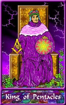 Card of the Day - King of Pentacles - Wednesday, March 2, 2016