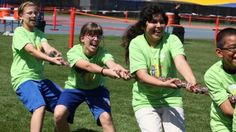 A Field Day is multi-activity event to keep kids moving
