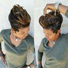 I'm wearing my hair like this tomorrow 11/7/16