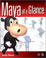 #Maya at a #Glance presents core Maya features visually, using pages that are packed with beautiful #graphics and loaded with detailed explanations on every #crucial #feature of Maya's interface. Engaging step-by-step #tutorials provide hands-on reinforcement for what you've learned.Maya at a Glance is the perfect #introduction and #reference to the Academy Award(r) winning #Maya #3D #animation and effects software.