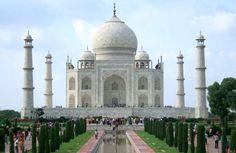 Taj Mahal, Agra, India was constructed between 1632-1653