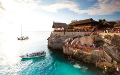 Rick's Cafe in Negril, Jamaica