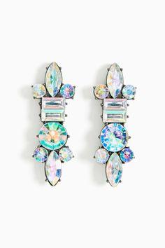 @NASTY GAL Laser Beam Earrings
