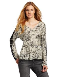 Parker Women's Sheer Sleeve Top Parker. $208.49. Beaded all over. Sheer sleeve inset. Dry Clean Only. 100% Silk. Made in India