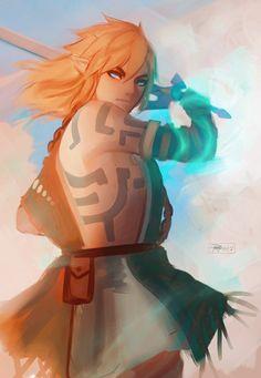 The Legend Of Zelda, Legend Of Zelda Breath, Breath Of The Wild, Character Concept, Character Design, Link Botw, Nerd, Hyrule Warriors, Link Zelda