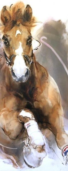 ... Western Wild, Western Art, Horse Drawings, Animal Drawings, Watercolor Illustration, Watercolor Paintings, Stella Art, Corel Painter, Water Animals