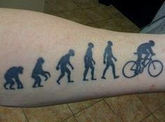 Cycling Tattoo