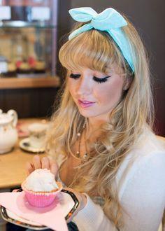Pastel Wire Headband Pin Up Rockabilly Hair Wrap by beauxoxo, £6.00