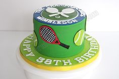 Celebrate with Cake!: Tennis Themed Cake