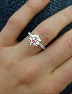 Engagement Rings - love this!