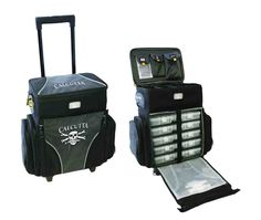 Perfect to store Barbie accessories. Calcutta Soft Storage System Rolling Tackle Bags - The Tackle Depot - Saltwater fishing and freshwater fishing Fishing Cart, Fishing Tackle Bags, Fishing Shop, Fishing Tools, Ice Fishing, Best Fishing, Saltwater Fishing, Tackle Box, Surf Fishing