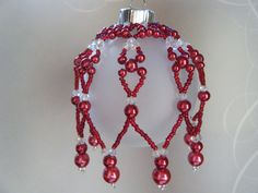 Free Beaded Christmas Ornament Covers | Request a custom order and have something made just for you.