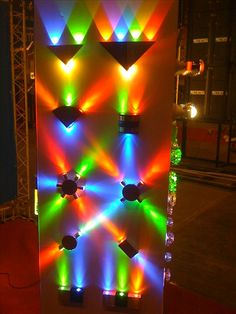 Colorful Decorative LED Wall Light