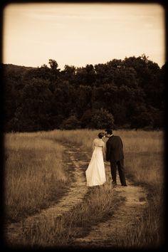 Bride and groom Notaviva Vineyard