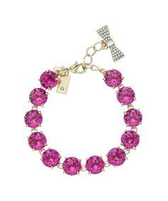 kate spade new york 12K Plated Crystal Fancy That Bracelet