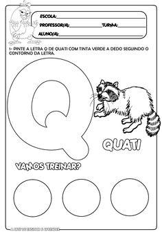 Atividade pronta letra Q