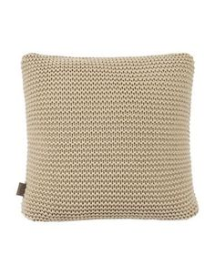 Ugg Knitted Square Pillow Women's Beige