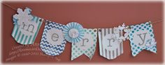 Love to Make Cards: Holiday Banner