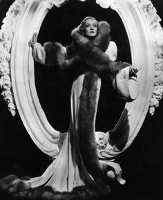 Marlene Dietrich in a Travis Banton ensemble for Desire. 1936.