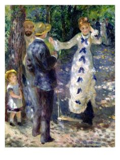 The Swing Giclee Print by Pierre Auguste Renoir at Art.com