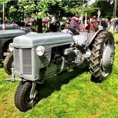 From this rare Ferguson tricycle version which was originally intended for vegetable growers Antique Tractors, Vintage Tractors, Antique Cars, Agriculture Tractor, Ford Tractors, Tricycle, Old Cars, Classic Cars, Vehicles