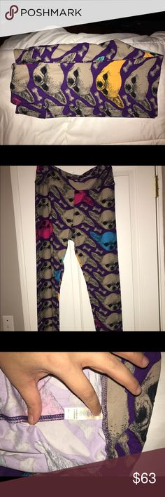 BNWOT LuLaRoe TC Chihuahua leggings! 🦄🦄 TC chihuahua leggings brand new with out tags (received from consultant that way) never worn or washed. BRAND NEW! Unicorn!!!! LuLaRoe Pants Leggings