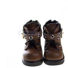 "Y01 BJD Yo-SD 1//6 Dollfie 13/"" Effner 12/"" Kish Doll Shoes Boot RED Zip"