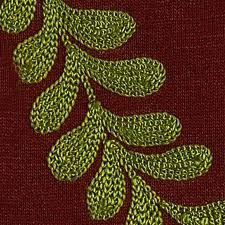 what is kantha embroidery Embroidery Leaf, Chain Stitch Embroidery, Embroidery Stitches, Machine Embroidery, Leaf Art, Textiles, Google Search, Fall 2016, Sewing