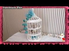 DIY weaving newspapers tutorial how to make a decorative cage tejiendo . Arts And Crafts, Paper Crafts, Diy Crafts, Old Newspaper, Bird Cages, Handmade Decorations, Weaving, Diy Projects, Display