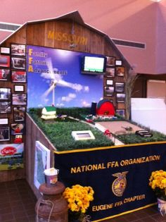 Wow! Congratulations to the Eugene FFA chapter on this outstanding educational display! They took 1st at the Missouri State Fair and 1st in the National FFA Convention's Hall of States in Louisville last month! Fantastic job!