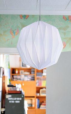 DIY Origami Paper Lantern