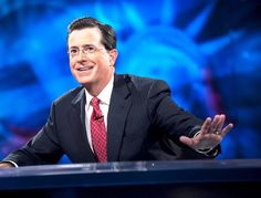 Stephen Colbert... Greatest political satirist of our time.