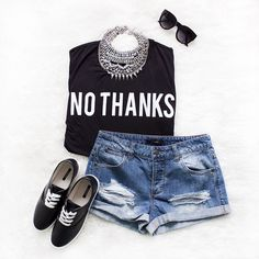 Love the statement necklace and casual tee from Forever 21. Student discount there too! http://www.studentrate.com/itp/get-itp-student-deals/Forever21-Student-Discounts--/0