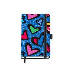 Agenda PASSPORT Cosida 'Pure Love' diseñada por Romero Britto. MIQUELRIUS