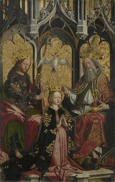 Incoronazione di Maria. 1470. Alte Pinakothek München