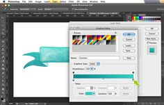 tutorial | how to make Photoshop brushes from watercolors