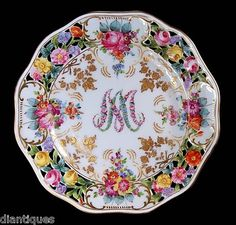 Marie Antionette plate