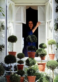 always in vogue Bunny Mellon. http://www.markdsikes.com