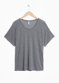 & Other Stories   Wool-Blend Tee