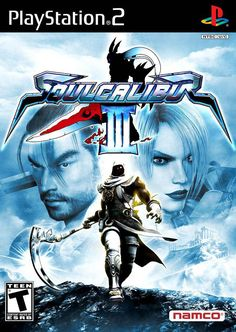 Soul Calibur 3 Very Good Playstation 2 Video Games Playstation 2, Games For Boys, Games To Play, Cartoon Network, Soul Calibur 3, Juegos Ps2, Soul Edge, Board Game Pieces, Nintendo