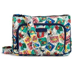 fc7a12ecd9 Vera Bradley Little Hipster Crossbody ( 45) ❤ liked on Polyvore featuring  bags