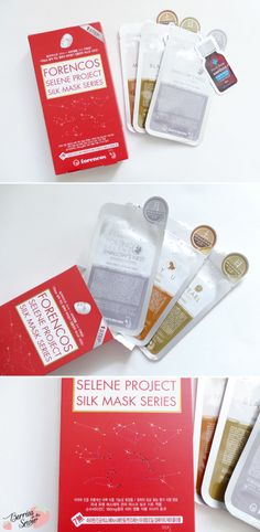Review: Forencos Selene Project Silk Mask Series Favorites #kbeauty #forencos