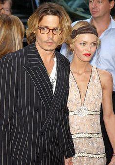 Johnny Deep & Vanessa Paradis