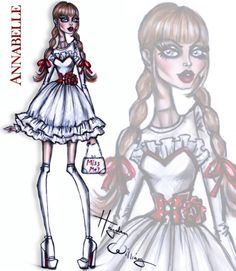 Haunt Couture by Hayden Williams: Annabelle