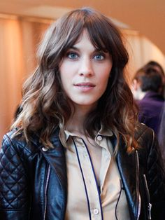 The undisputed queen of laidback London cool, Alexa Chung's hair is all about bedhead texture and ombré lengths, with a flirty fringe adding an occasional update. Inspired by the sultry sixties style of icons like Marianne Faithfull and Jane Birkin and home-grown grunge icons like Kate Moss, Alexa's hair is the ultimate in laidback, effortless cool.
