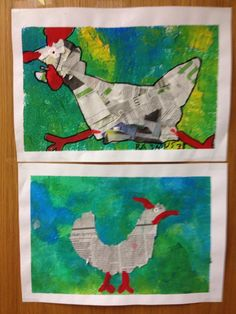 Pääsiäiskanat. Kuva: Heidi Kiianlinna Easter Arts And Crafts, Spring Crafts, Easter Activities, Art Activities, Kindergarten Art Projects, Newspaper Art, 2nd Grade Art, Chicken Art, Art Lessons Elementary