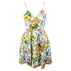 Corey Lynn Calter Womens Multi Tara Silk Blend Floral Cross V Dress 6