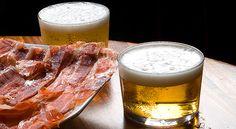 Porque hay cosas que son irresistibles. ¿Os hace una tapita de Jamón de Jabugo y una cervecita?